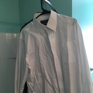 Ralph Lauren Button down White shirt